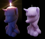 Twilight Sparkle Candle