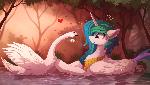 Celestia hates Swans (Color sketch)