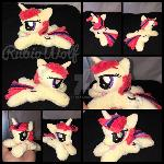 EFNW '17 - MLP 6 inch mini Moondancer beanie