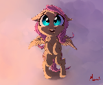 Fluttershy (colored)