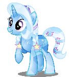 Trixie as Crystal Pony