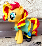 Commission-MLP Figure, Sunset with Outfit