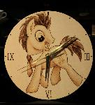 Dr. Hooves Clock