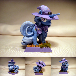 Table-Top Mini: The Great and Powerful Trixie!