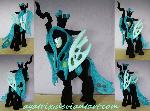 Queen Chrysalis plush