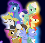 MLP Fathers of Mane 6