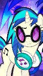 Vinyl Scratch Phone Wallpaper