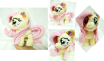 Mini Fluttershy plushie(1/2 Trade)
