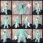 MLP 15.5 inch Anthro Lyra Plushie
