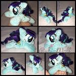 MLP 6 inch mini RaRa/Coloratura beanie