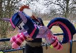 Lifesize Twilight Sparkle w socks
