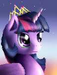 Royal Portrait - Princess Twilight (redo)