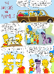 The Simpsons Visit Ponyville