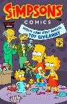 Couverture du comics des Simpsons