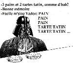 Dark Vador à la boulangerie