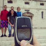 Photo avec un téléphone portable