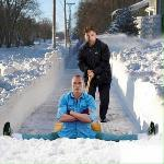Pelle à neige ultime