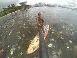 L'état de la mer à Rio de Janeiro