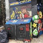 Une benne d'arcade