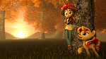 [SFM] A Sunset in Autumn