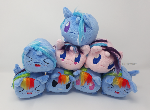 Handmade Stacking Plushies - Full Collection!