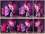 Saloon Pinkie Pie Plushie