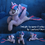 Twilight Sparkle Seapony Plushie