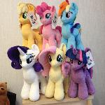 Plushie Mane Six for DerpFest 2017