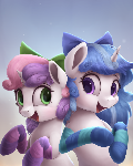 Melodia and Sweetie Belle