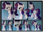 Rarity Custom Plush