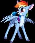 Rainbow Doe