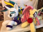 Punk Rarity and Flutterbat Plush