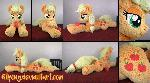 Lifesize 55inch Fluffy Applejack plush