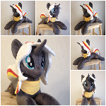 Plushie Velvet Remedy - 26 inches long