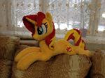 Plushie Sunset Shimmer - 25 in long