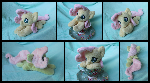 Custom Baby Fluttershy Beanie - Commission