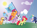 Raising the Flag of Equestria