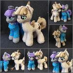 Plushies Mudbriar and Maud Pie