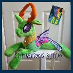 mlp plushie commission Thorax The Changeling King