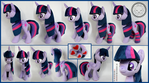 + Plush Commission: Twilight Sparkle (long hair) +