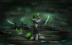 Under rain [commission]