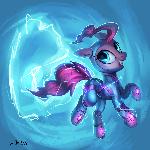 Pinkie Pie supermare [redraw]