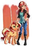 Double Sunset Shimmer