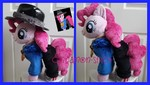 mlp plushie commission RAPPER PINKIE PIE