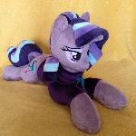 Plushie Starlight Glimmer in fleece hoodie
