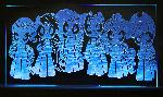 Mane 6 Acrylic LED Picture