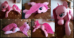 Lifesize Pinkamena plush