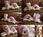 Lifesize Fluttershy plush