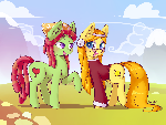 MLPFiM: Tree Hugger and Wheat Grass