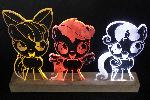 Cutie Mark Crusaders Acrylic LED Picture